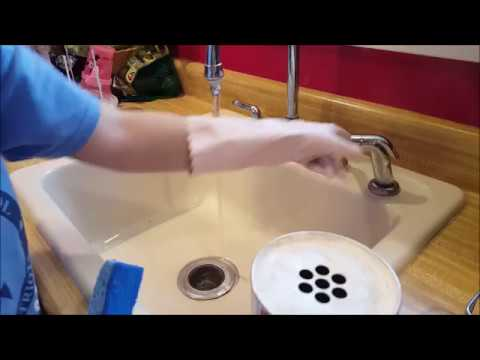 Easily Remove Stains And Marks From Your Porcelain Sink YouTube - Remove stains from bathroom sink