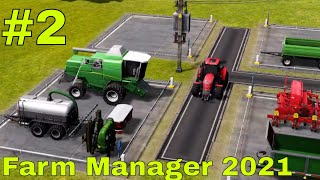 FARM MANAGER 2021 #2 - SI SEMINA E SI COMPRANO MACCHINARI - GAMEPLAY ITA