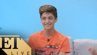 Asher Angel Teases His Relationship Status And Talks Shazam Et Live
