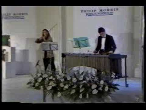 Paganini Marimba Violin Francois Du Bois Jane Peters