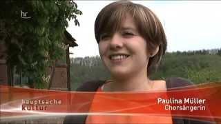 hr fernsehen - hauptsache kultur 08.05.2014 - ROAM-Probenwochenende in Oberbernhards