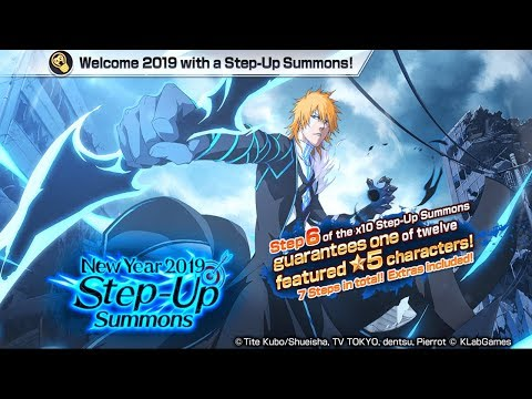 Bleach Brave Souls: STEP-UP Summons Ano novo 2019!!! ABRINDO O ANO COM SUMMONS!!! - Omega Play