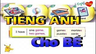 Bé Học Tiếng Anh - Tiếng Anh Cho Bé - Dạy bé online - Bai 12
