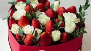 К Дню Святого Валентина. Идеи подарков и украшение блюд к празднику!❤️❤️❤️🌹🌹🌹