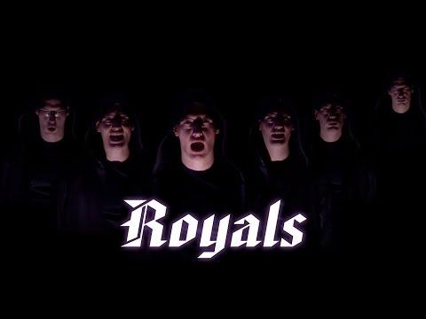 Royals - Lorde (Minor Chords) acapella