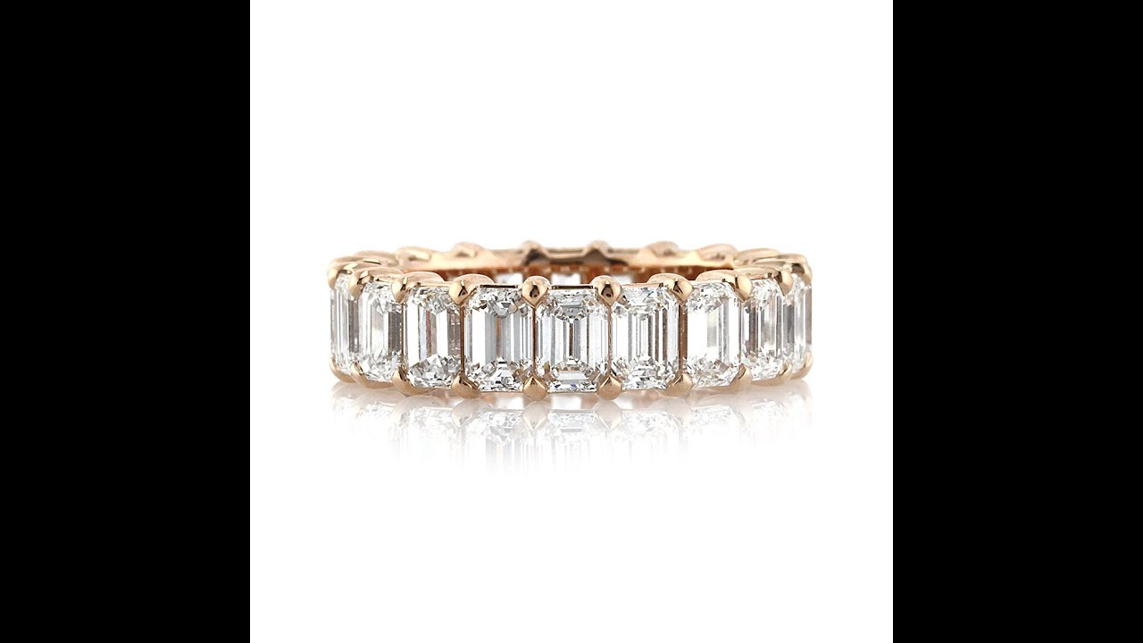 bands st diamond k rose eternity band bezel wedding greenwich anniversary gold jewelers beverley