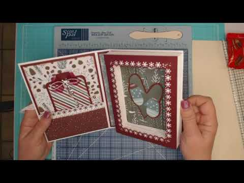 Winter Meadow Book Box Card