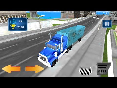 Sea Animals Transport Truck (by Confun GameStudio) Android Gameplay [HD]