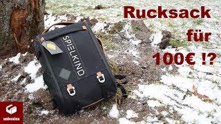 Der Spielkind Rucksack von Felix von der Laden im Test (Unboxing, Review) Dner Merch | unboxinx