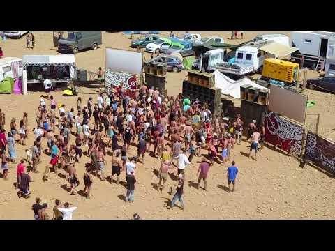 Teknival Teksud Reload vu par un drone - 11.14/08/2017
