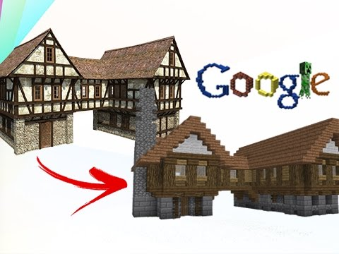 Build Tips Transfer From Google Images To Minecraft
