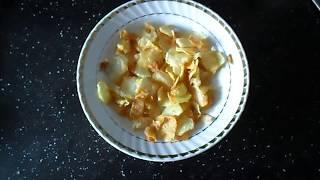 Чипсы на сковороде в домашних условиях