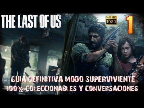 The last of us-Prólogo/Capítulo 1 Zona Cuarentena-Guía 100% definitiva Superviviente 1080HD Español