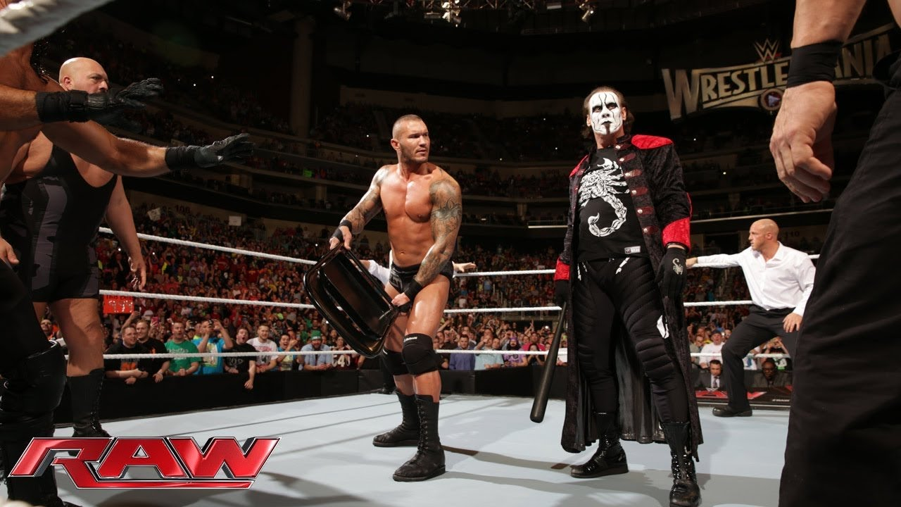 sting and the viper clean house raw march 16 2015 youtube