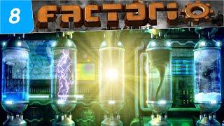 Factorio Как расставлять лаборатории ! Наука в фактории ! #8