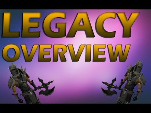 Legacy Overview! Pkking + PvM :)