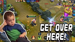 FRANCO KEEPS THE ENEMY CLOSER 😂 | RANK SEASON 13 | WOLF XOTIC | MOBILE LEGENDS