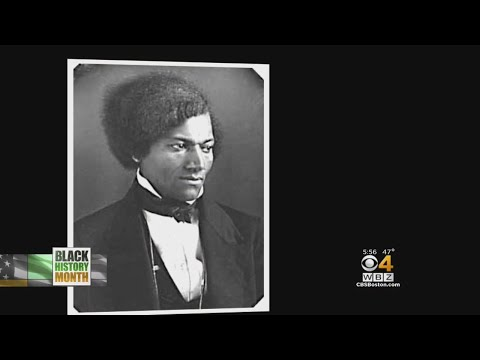 Abolitionist Frederick Douglass Had Roots In New England