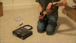 Unboxing the Yamaha YEV-105