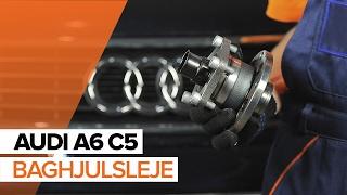 Hvordan skifter man Bøjle, stabilisatorlejring VW EOS - vejledning