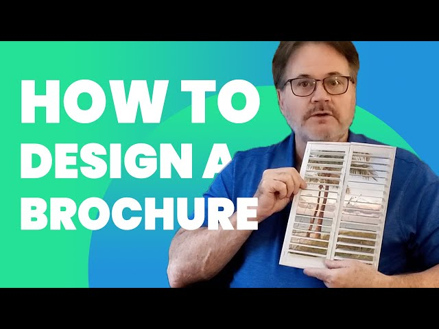 Effective Brochure Design Tips - With Examples
