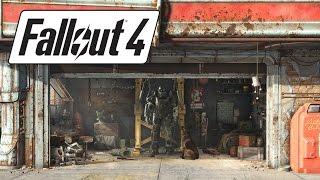 Построить телепорт Девушка играет в Fallout 4 - 56