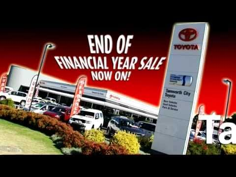 tamworth city toyota end of financial year sale youtube. Black Bedroom Furniture Sets. Home Design Ideas