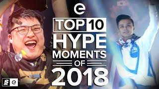 The Top 10 Hype Moments of 2018