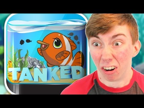 TANKED AQUARIUM GAME (iPhone Gameplay Video)