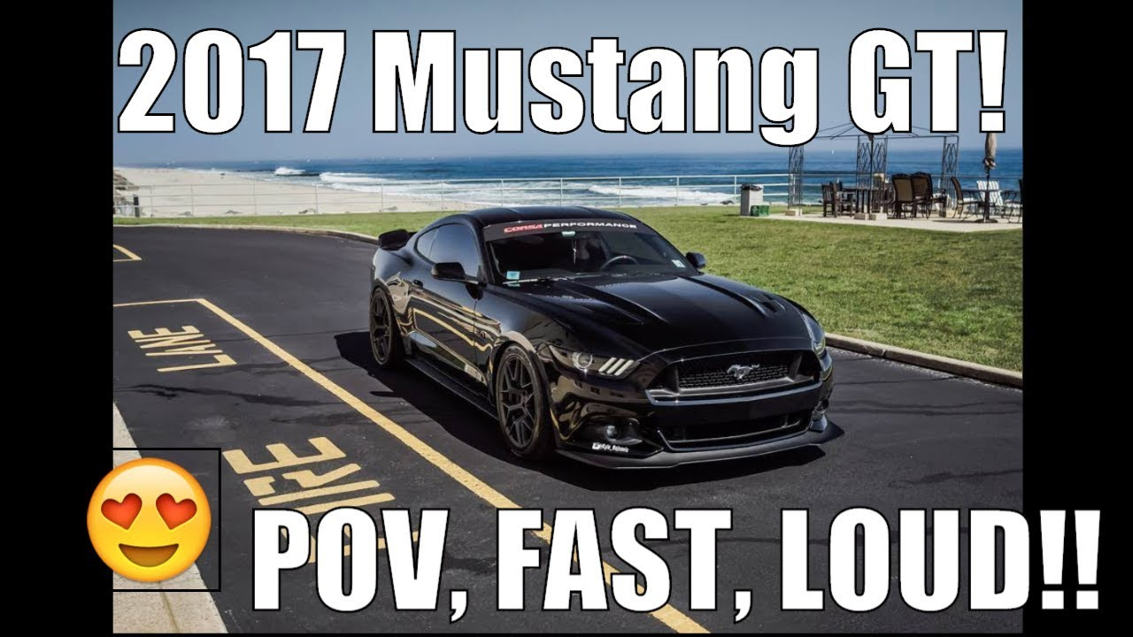 2017 Mustang Gt 0 60 >> Ford Mustang Gt 5 0 Pov 0 60 Insane Loud Exhaust Fast