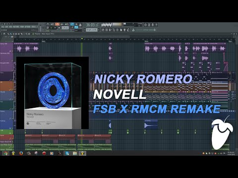 Nicky Romero - Novell (Original Mix) (FL Studio Remake + FLP)