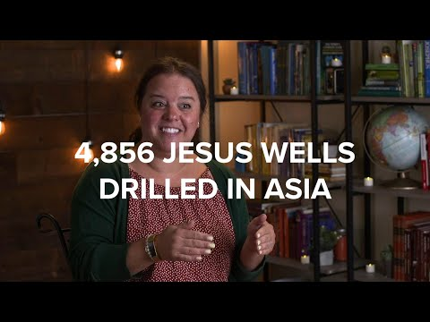 4,856 Jesus Wells Drilled in 2019 - Gospel for Asia Annual Report