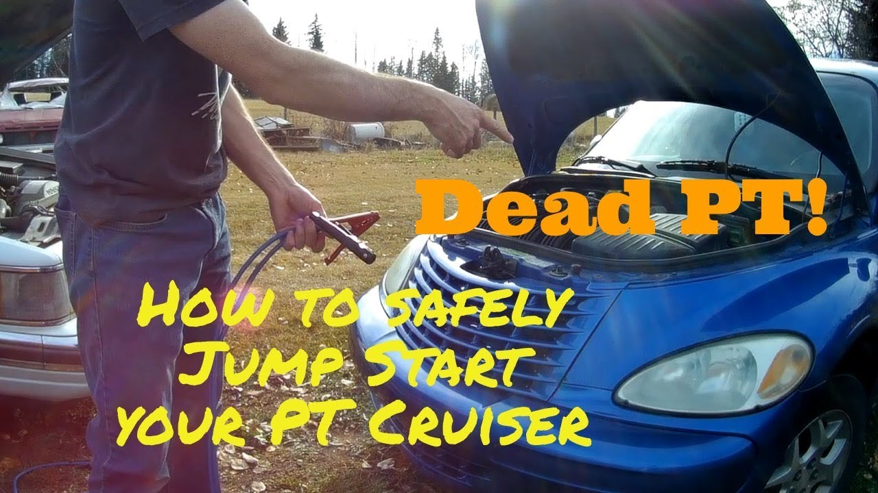 How To Jump Start A Pt Cruiser Youtube