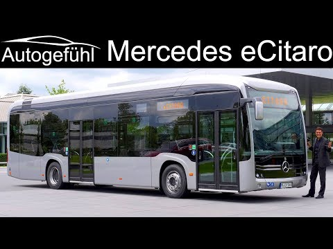 Daimler electric city bus Mercedes eCitaro PREMIERE – Autogefühl