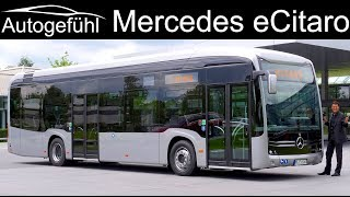 Daimler electric city bus Mercedes eCitaro PREMIERE - Autogefühl