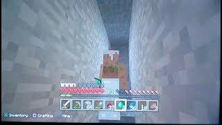 Minecraft Alex's cave (3) frost mining Trip