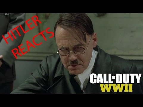 Hitler reacts to call of duty WW2