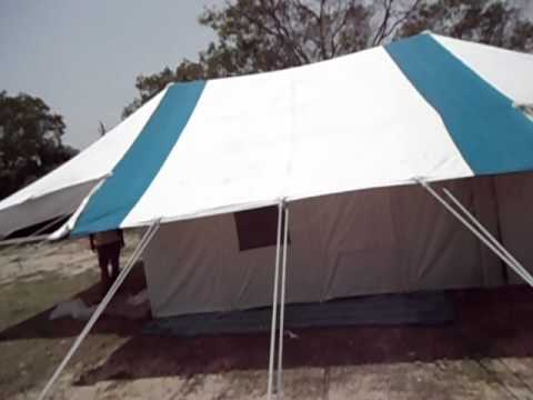 Swiss Cottage Tent by AADI TENTS & Swiss Cottage Tent by AADI TENTS - YouTube