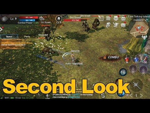 Lineage 2: Revolution Gameplay Second Look (English) – MMOs.com