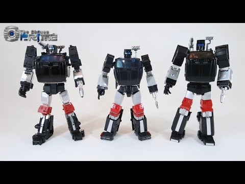 X-Transbots Aegis - Masterpiece Trailbreaker Preview