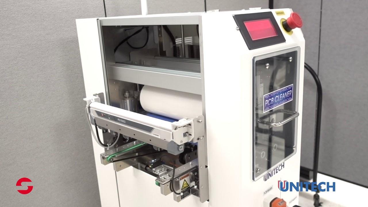 SMI Digital Media Library - Unitech PCB Cleaner Intro