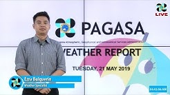 Public Weather Forecast Issued at 4:00 AM May 21, 2019