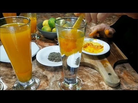 Why must drinking turmeric water everyday!