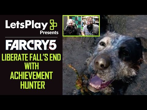 Far Cry 5: Liberate Fall's End With Achievement Hunter | Let's Play Presents | Ubisoft
