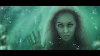 Фотоколлаж в Фотошопе. Арт-обработка Русалка под водой