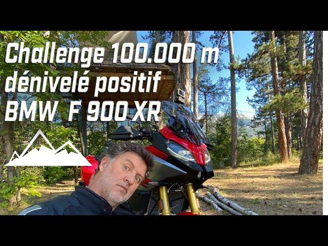Challenge 100K mètres de dénivelé + en 120 heures ► jouable ou pas ►BMW F900XR