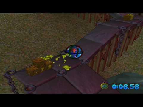 Crash Bandicoot: The Wrath of Cortex - Level 23: Medieval Madness (Platinum Relic)