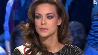 Marine Lorphelin Miss France 2013 & Sylvie Tellier - On n'est pas couché 15 décembre 2012 #ONPC