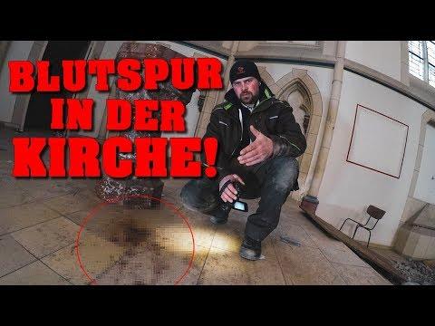 LOST PLACE: BLUTSPUR gefunden! | Verlassene Kirche