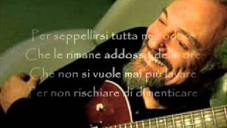 Un Uomo - Eugenio Finardi (con testo)